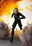 BANDAI- Black Widow Movie y Set Effects Figura, Multicolor, Standard (BAN27627)