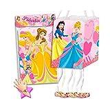 Piñata Princesas para cumpleaños y Fiestas Infantiles.