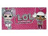 L.O.L. Surprise! | Toalla de baño/Playa para Niñas Diseño Unico | (Toalla L.O.L. Surprise! Official)