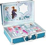 Frozen II in Time Beauty Travel - Maletín de Maquillaje - Set de Maquillaje para Niñas - Maquillaje Frozen - Neceser Maquillaje y Accesorios en un Maletín Reutilizable con Espejo