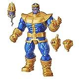 Marvel Hasbro Legends Series - Figura Coleccionable de Thanos de 15 cm - Diseño Premium y 3 Accesorios