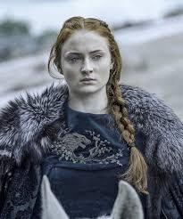 Samsa Stark  Sophie Turner juego de tronos lady stark palomita