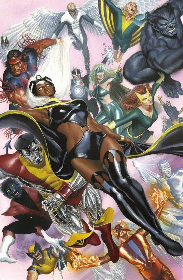 tormenta Storm Coloso Wolverine arcangel