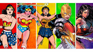evolución wonder woman comic
