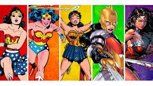 evolución wonder woman comic