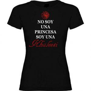 Camiseta de mujer No soy una princesa soy una khaleesi