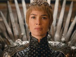 Cersei Lannister en el Trono de Hierro Lena Headey juego de tronos