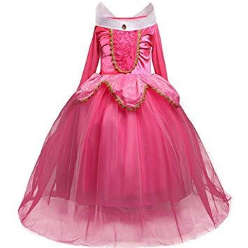 Disfraz Bella y Bestia rosa princesas disney niña