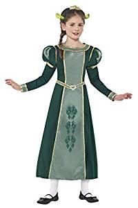 disfraz princesa fionna shrek niña