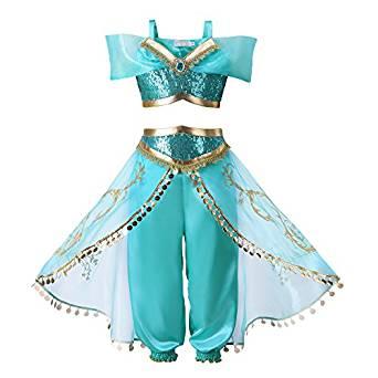 disfraz princesa jasmine disney aladdin niña