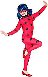 disfraz ladybug niña