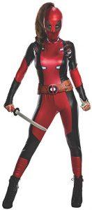 disfraz mujer deadpool marvel cosplay