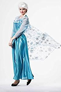 disfraz mujer princesas frozen disney elsa cosplay