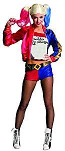 disfraz mujer harley quinn escuadron suicida aves de presa dc comics cosplay