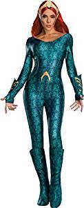 disfraz mujer reina mera aquaman cosplay