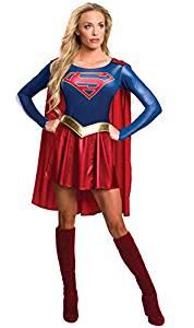 disfraz mujer supergirl dc comics cosplay
