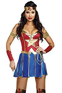 disfraz mujer wonder woman dc comics Lazo de la verdad cosplay