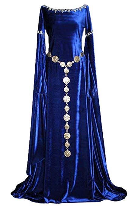disfraz mujer princesa medieval