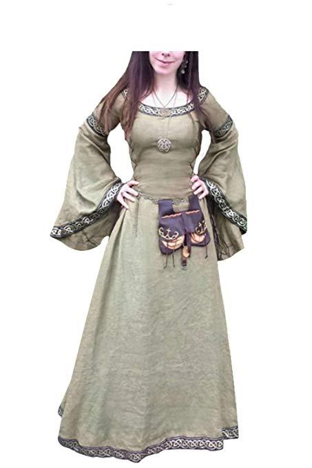 disfraz princesa celta vikinga vikingos
