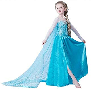 Disfraz elsa frozen princesas disney niña