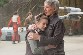 ultimo adiós de Leia y Han Solo en D'Qr
