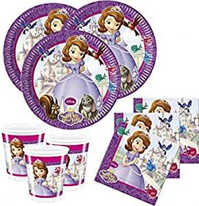Set fiesta cumpleaños princesa sofia