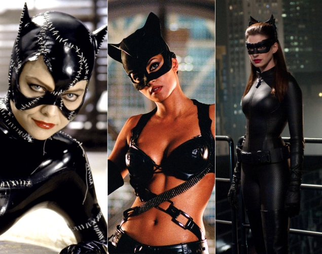 catwoman dc comics halle berry anne hathaway michelle pfeiffer