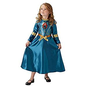 Disfraz niña princesa merida brave princesas disney indomable