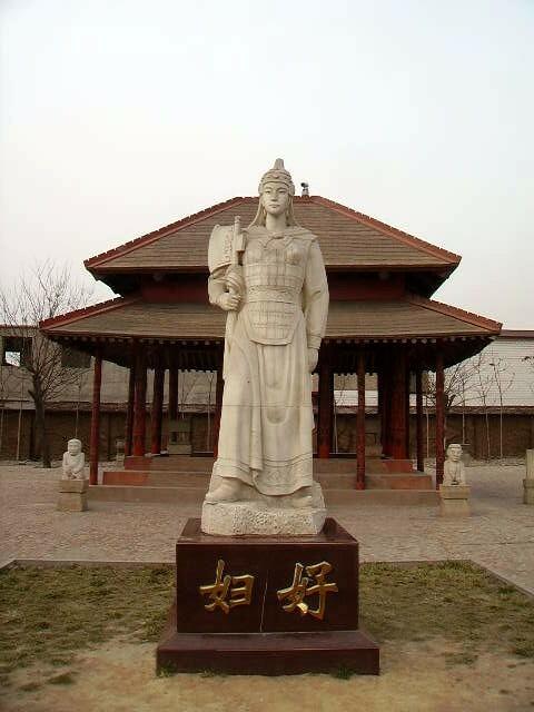 Estatua de Fu Hao, la princesa guerrera